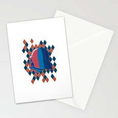 Vader Red Blue Stationery Cards