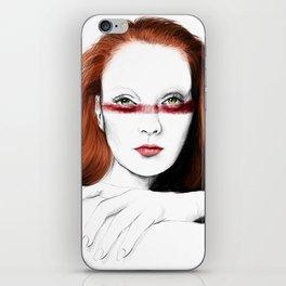 Love Girls - Blood redhead iPhone Skin