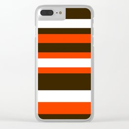 Cleveland Colors Clear iPhone Case
