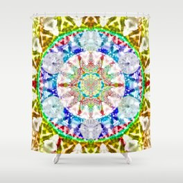 Within - The Sacred Geometry Collection Shower Curtain