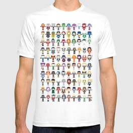 THE ULTIMATE 'AVENGER'S' ROBOTIC COLLECTION T-shirt