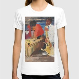 African American Masterpiece 'Jumpin Jive' by Norman Lewis T-shirt
