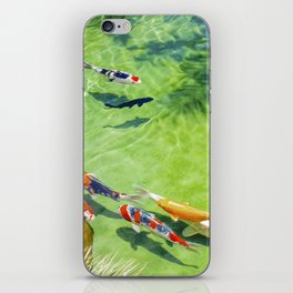 Fish watercolor IV iPhone Skin