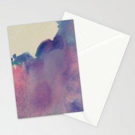 purple sky Stationery Cards