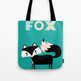 Frankie Fox Tote Bag