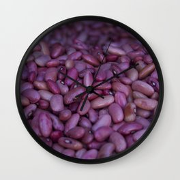 Kidney Beans in Santa Ana, Costa Rica Wall Clock