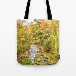 A New Hampshire Autumn Tote Bag