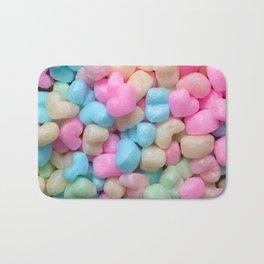 Pastel hearts! Bath Mat