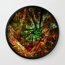 Autumn Rhapsody Wall Clock
