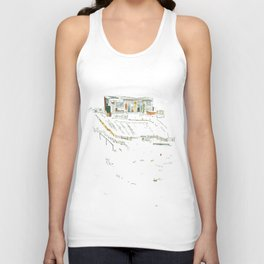king of the allotments Unisex Tank Top
