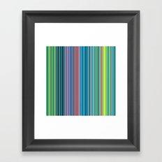 STRIPES22 Framed Art Print