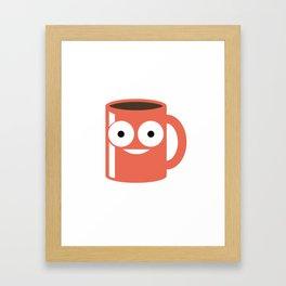 I Own You Coffee Mug - Funny Coffee Lover Framed Art Print