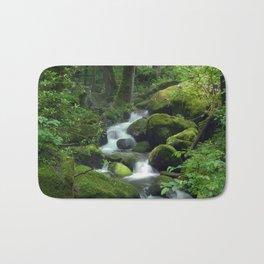 Summer Forest Brook Bath Mat