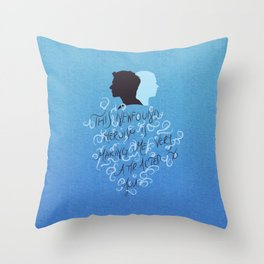 Newfound Heroism Throw Pillow
