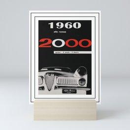 Automotive Art 255 Mini Art Print