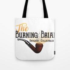 The Burning Briar Tote Bag