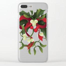 Under mistletoe Clear iPhone Case