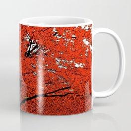 TREES RED Coffee Mug