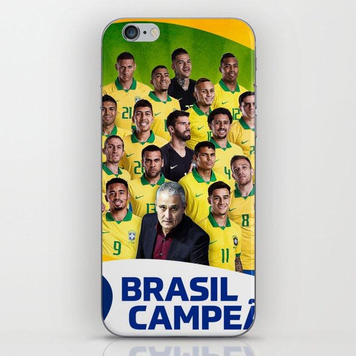 Brasil Champions Copa America 2019 iPhone Skin