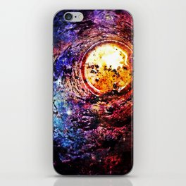Eye of the universe iPhone Skin