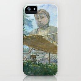 The Great Statue of Amida Buddha at Kamakura iPhone Case