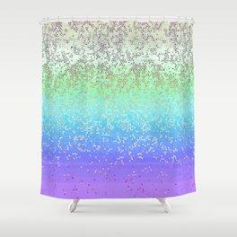 Glitter Star Dust G242 Shower Curtain