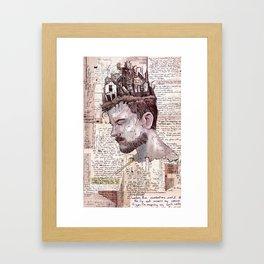Self Construct Framed Art Print