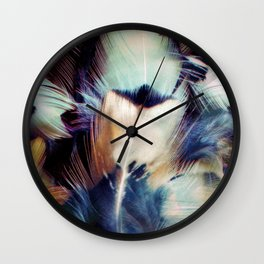 Feather Portrait Wall Clock