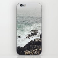 maine iPhone & iPod Skins featuring Maine Coast by Thais Marchese