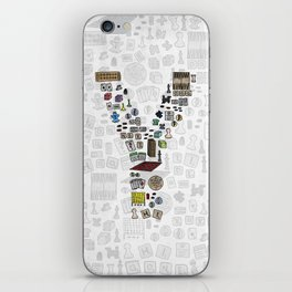 letter Y - games iPhone Skin