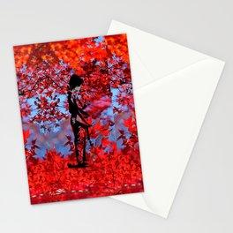 Autumn Kimono Stationery Cards