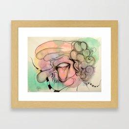 The Cabby Framed Art Print