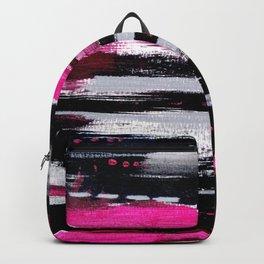 Pink & Black Backpack