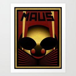 OBEY THE MAU5 Art Print