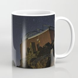 Comet Neowise and Mojon del Trigo Observatory 2.600 meters high. Sierra Nevada National Park Coffee Mug