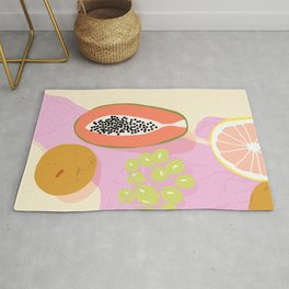 Papaya Picnic Rug