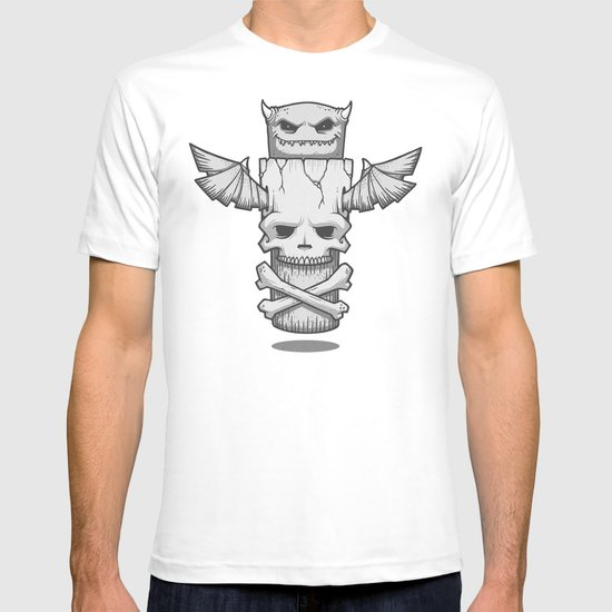Grim Totem: A Forked Tongue Tale T-shirt