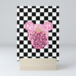 Not Your Babe Mini Art Print
