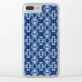 Ultra Elegant Ornamental Feng Shui Psychedelic Micro Pattern Clear iPhone Case