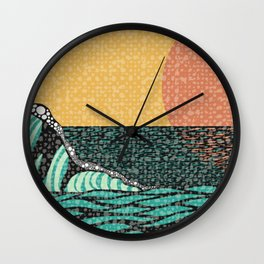 Sunrise V Wall Clock
