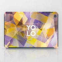 sayings iPad Cases featuring Dreams of YOLO Vol.1 by HappyMelvin