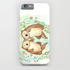 Otters Holding Hands Slim Case iPhone 6s