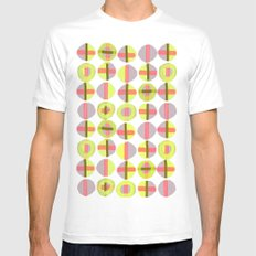 X Marks the Spot Mens Fitted Tee MEDIUM White