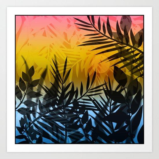 Hot summer . Heat . Art Print