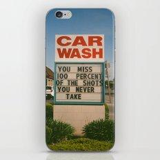 Car Wash  iPhone Skin