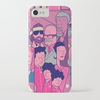royal tenenbaums iPhone & iPod Cases featuring The Royal Tenenbaums by Ale Giorgini