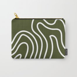 Leaf Thumbprint Carry-All Pouch