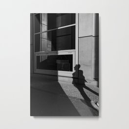 shadow of a walker Metal Print