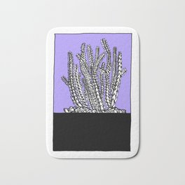 Cute Succulent and Cacti Series 04 Bath Mat