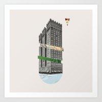 architect Art Prints featuring Architect by Oleg Borodin